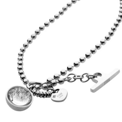 Dámský náhrdelník Crysta Ball Necklace Silver 9980645/S