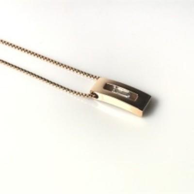 Storm ocelový náhrdelník Shia Pedant Rose Gold