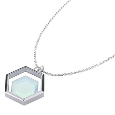 Storm ocelový náhrdelník Mimoza- X Necklace