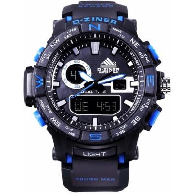 Pánské digitální hodinky D-ZINER 112218K