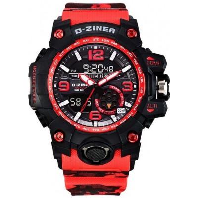 Pánské digitální hodinky D-ZINER 112221A