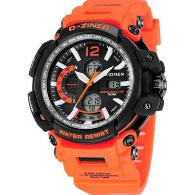 Pánské digitální hodinky D-ZINER 112224H