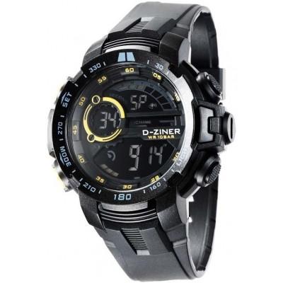 Pánské digitální hodinky D-ZINER 112219K