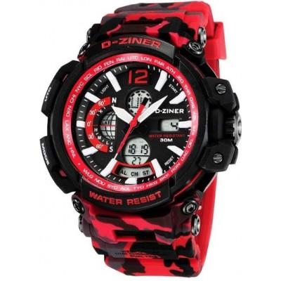 Pánské digitální hodinky D-ZINER 112221K