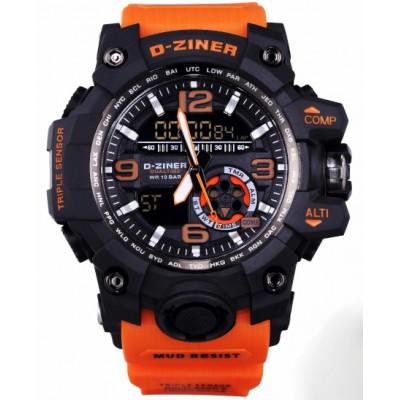Pánské digitální hodinky D-ZINER 112210P