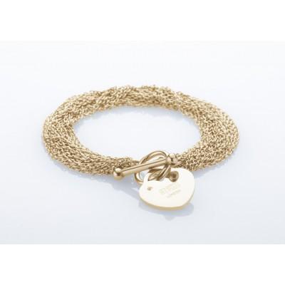 Dámský náramek STORM Lorello Bracelet- Gold 9980765/GD