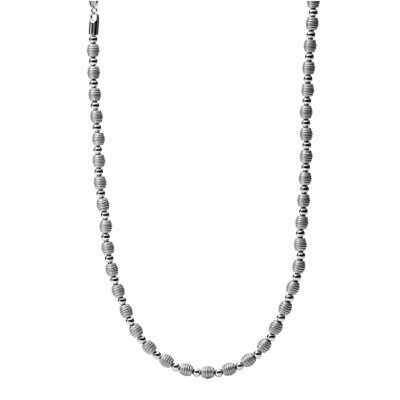 Fossil ocelový náhrdelník JF00497797