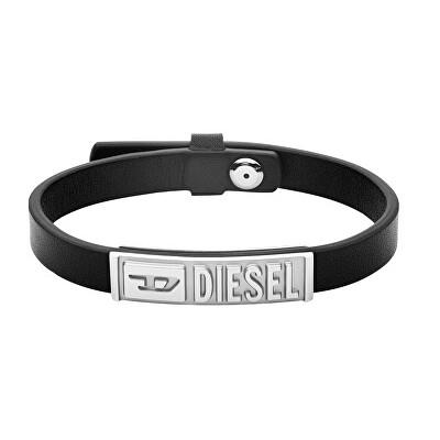Diesel Pánský kožený náramek DX1226040