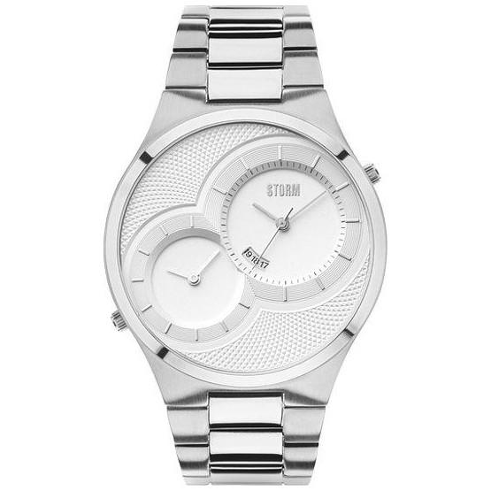 Pánské hodinky Storm Duodex Silver 47268/S